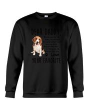 Daddy Beagle Crewneck Sweatshirt thumbnail
