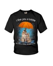 Cat I Like You A Lottle Youth T-Shirt thumbnail