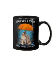 Cat I Like You A Lottle Mug thumbnail