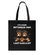Good Mom Rottweiler Tote Bag thumbnail