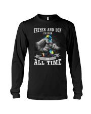 Father And Son Autism Long Sleeve Tee thumbnail