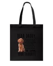 Cockapoo Daddy Tote Bag thumbnail