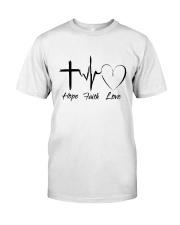 Hope Faith Love Classic T-Shirt thumbnail