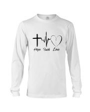 Hope Faith Love Long Sleeve Tee thumbnail