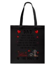 Dad Dachshund  Tote Bag thumbnail