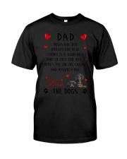 Dad Dachshund  Classic T-Shirt thumbnail