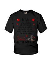 Dad Dachshund  Youth T-Shirt thumbnail