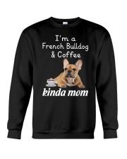 French Bulldog Kinda Mom Crewneck Sweatshirt thumbnail