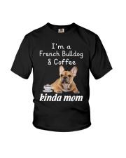 French Bulldog Kinda Mom Youth T-Shirt thumbnail