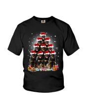 PHOEBE - Rottweiler in party hat  - 0911 - E16 Youth T-Shirt thumbnail