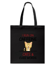 Cat Caffeine Tote Bag thumbnail