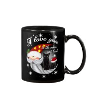 Black Cat Love You To Moon And Back Mug thumbnail