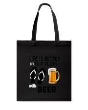 Flip Flops Beer Tote Bag thumbnail