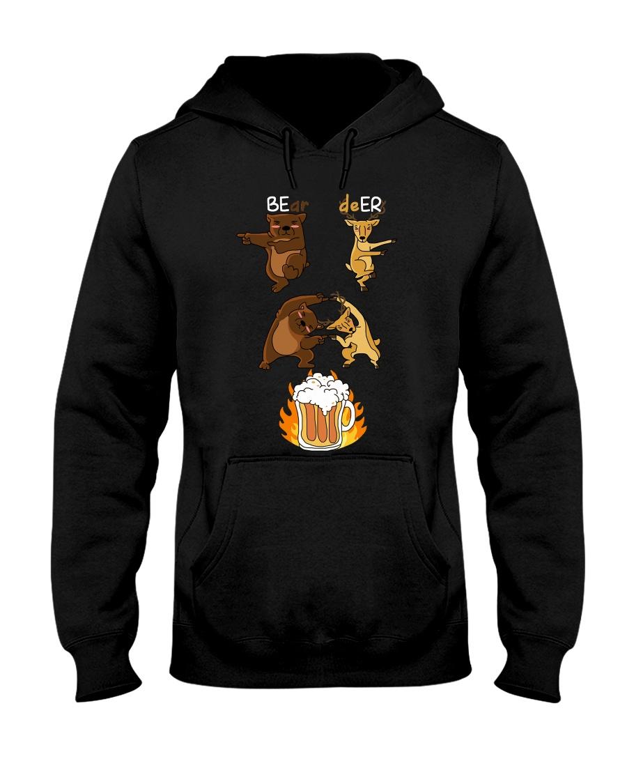 Bear Deer Hooded Sweatshirt