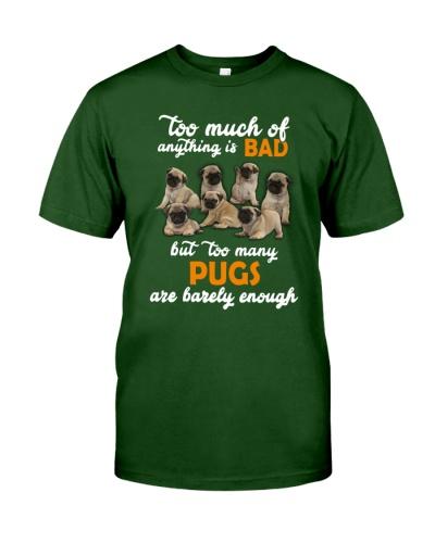 Pug Barely Enough