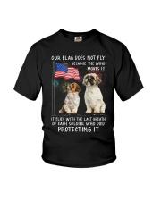 Flag Shih Tzu Youth T-Shirt thumbnail