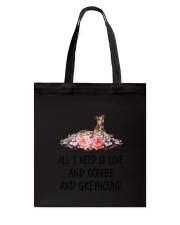 Greyhound All I Need Tote Bag thumbnail