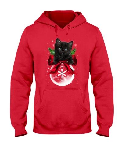 Black Cat Xmas Ball