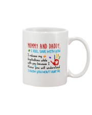 Mommy And Daddy Autism Mug front