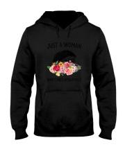 Just A Woman Hedgehogs Hooded Sweatshirt thumbnail