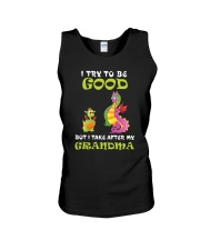 I Try To Be Good Dragon Unisex Tank thumbnail