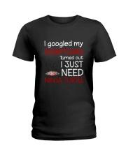 TMNT Symptoms Ladies T-Shirt thumbnail