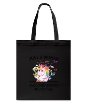 Coffee And Unicorn Tote Bag thumbnail