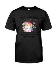 Coffee And Unicorn Classic T-Shirt thumbnail