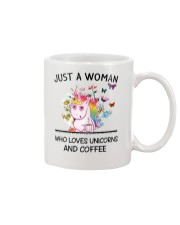 Coffee And Unicorn Mug front
