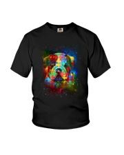 Bulldog Autism Youth T-Shirt thumbnail
