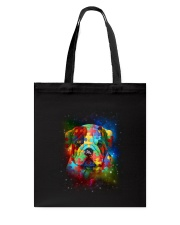 Bulldog Autism Tote Bag thumbnail