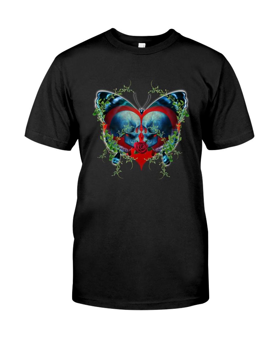 Skull Butterfly Classic T-Shirt