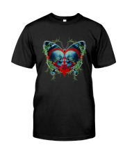 Skull Butterfly Classic T-Shirt front