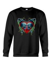 Skull Butterfly Crewneck Sweatshirt thumbnail