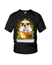 PHOEBE - French Bulldogs Ball Christmas - 28 Youth T-Shirt tile