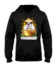 PHOEBE - French Bulldogs Ball Christmas - 28 Hooded Sweatshirt front