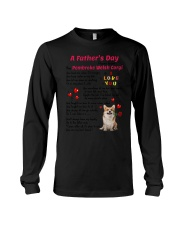 Poem From Pembroke Welsh Corgi Long Sleeve Tee thumbnail