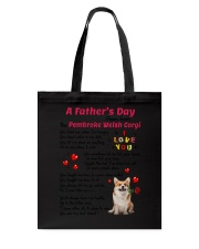 Poem From Pembroke Welsh Corgi Tote Bag thumbnail
