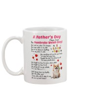Poem From Pembroke Welsh Corgi Mug back