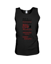 Just A Grandma Crazy Funny Unisex Tank tile