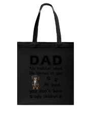 Dad Dachshund Tote Bag thumbnail