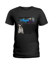 French Bulldog Angels Ladies T-Shirt thumbnail