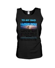 Dad I Love You Unisex Tank thumbnail