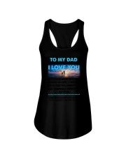 Dad I Love You Ladies Flowy Tank thumbnail
