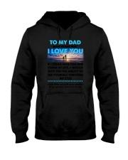 Dad I Love You Hooded Sweatshirt thumbnail
