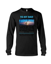 Dad I Love You Long Sleeve Tee thumbnail