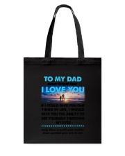Dad I Love You Tote Bag thumbnail