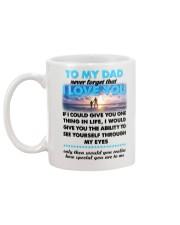 Dad I Love You Mug back