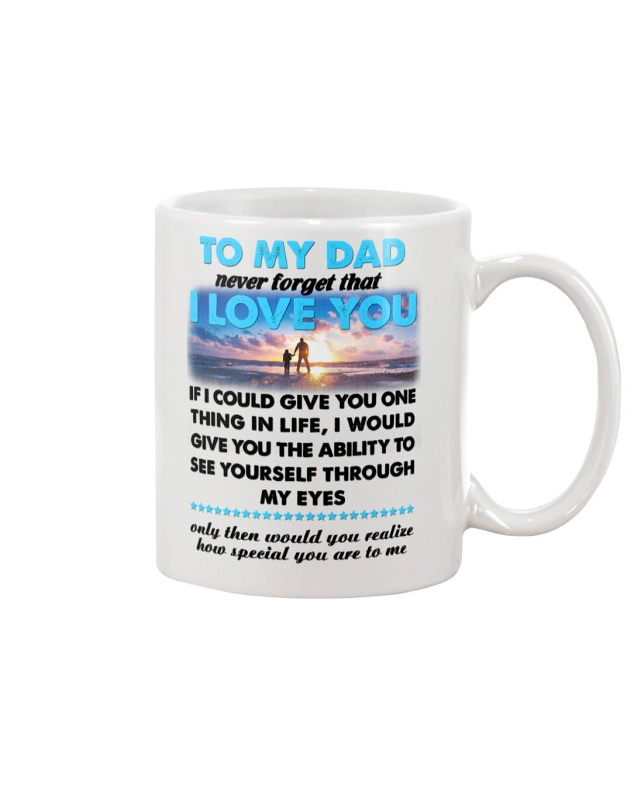 Dad I Love You Mug