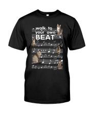 Cat Music Classic T-Shirt front